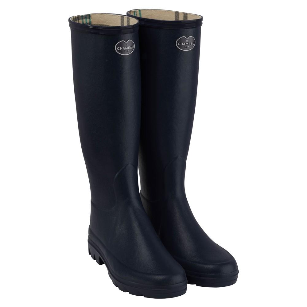 Le Chameau Iris Jersey Lined Women's Wellington Boots
