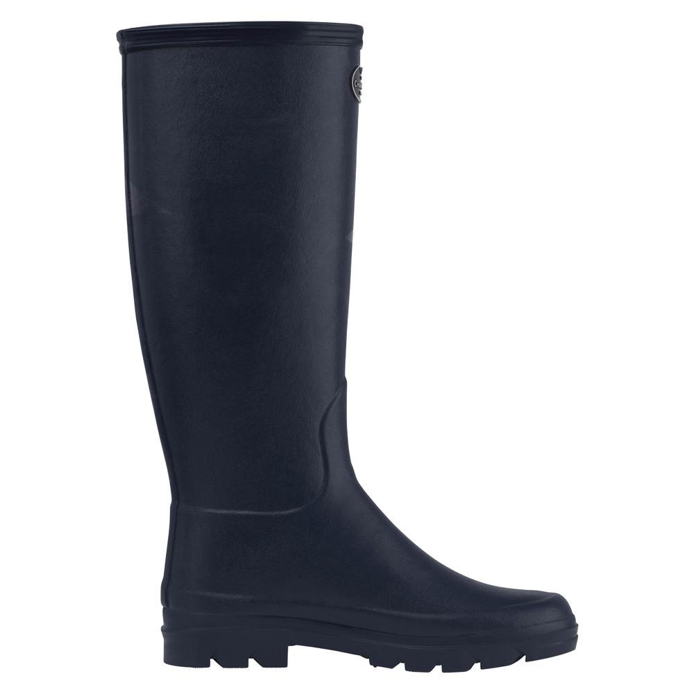Le Chameau Iris Jersey Lined Women's Wellington Boots Bleu Fonce