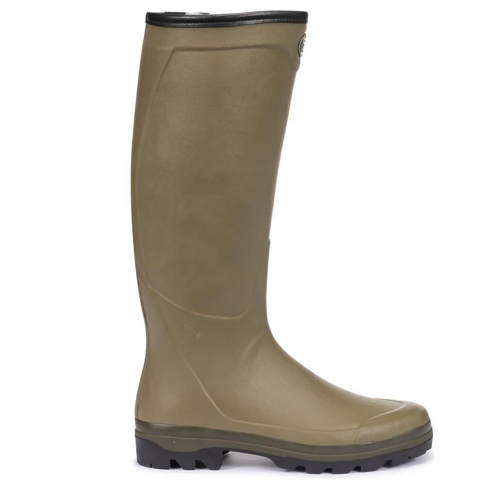 Le Chameau Country Cross Jersey Lined Men's Wellington Boots Vert Vierzon