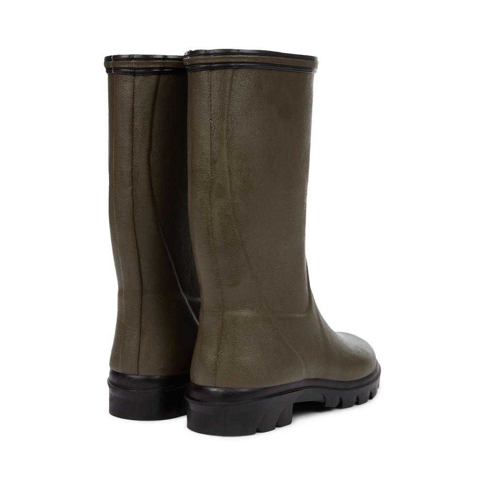 Le Chameau Petite Adventure Jersey Lined Children's Wellington Boots Vert Chameau