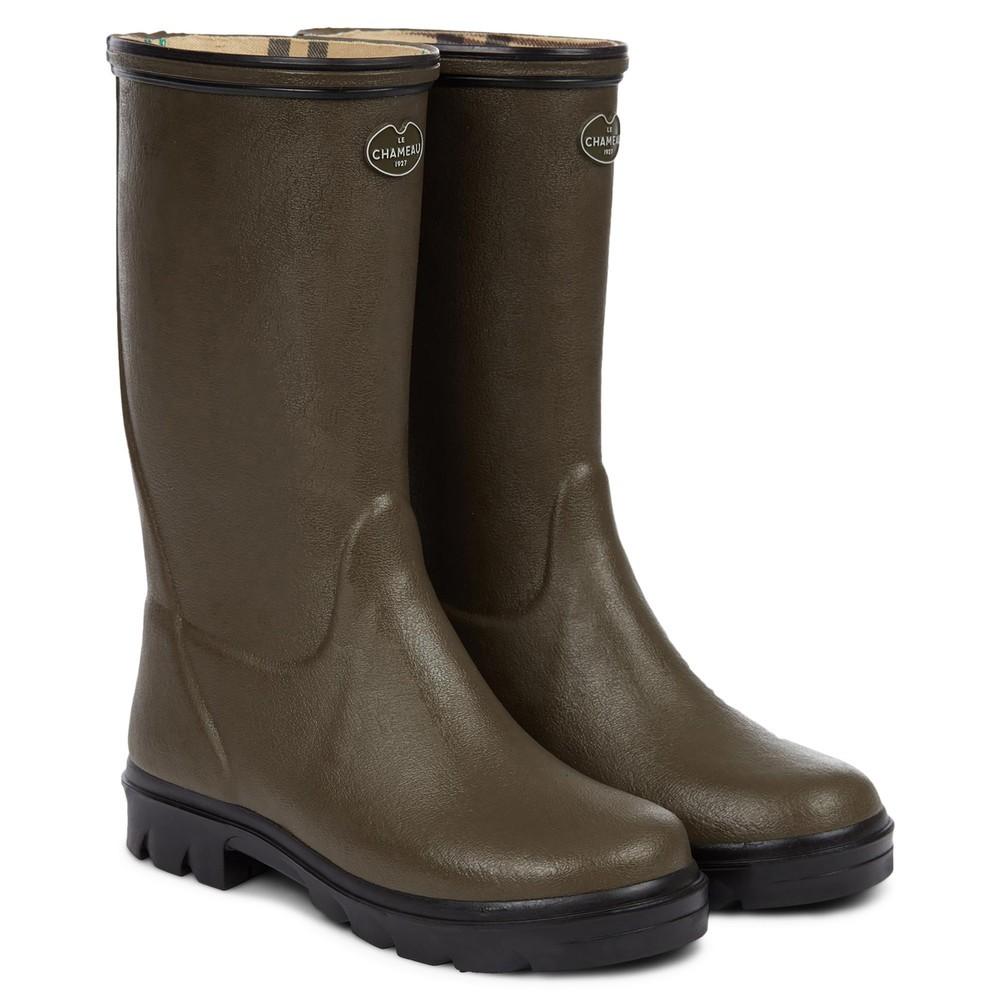 Le Chameau Petite Adventure Jersey Lined Children's Wellington Boots