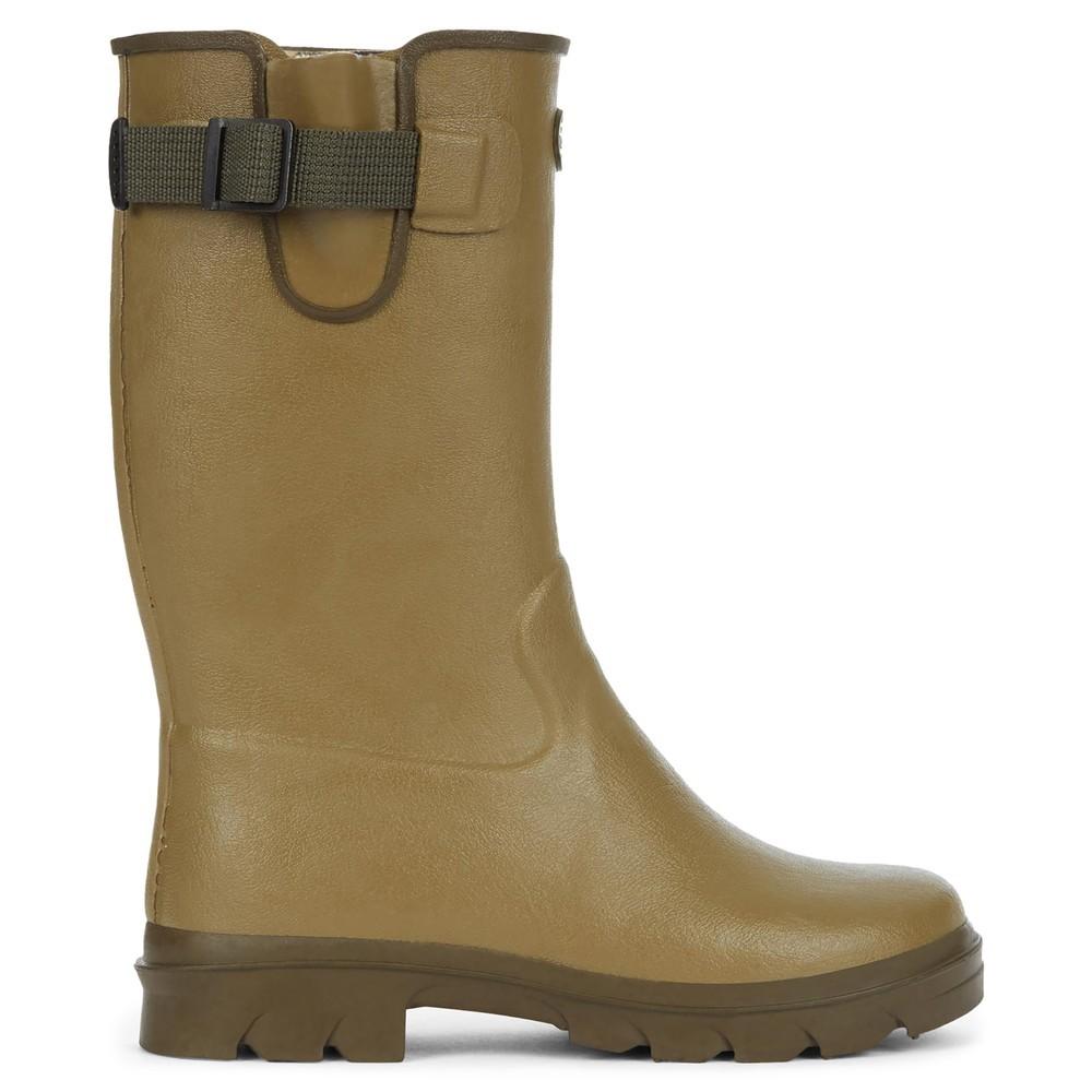 Le Chameau Petite Vierzon Jersey Lined Children's Wellington Boots Vert Vierzon