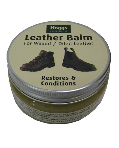 HOGGS OF FIFE Waxed Leather Balm Neutral
