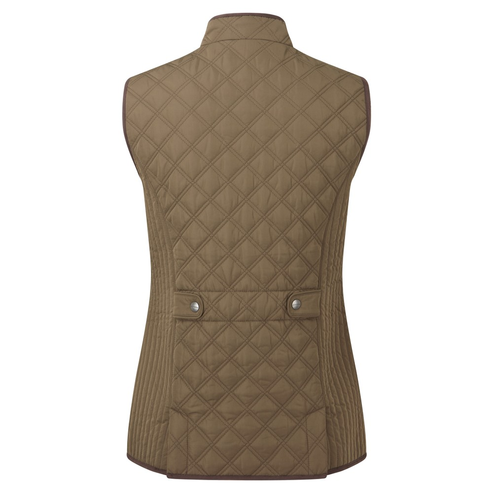 Schoffel Quilted Ladies Gilet Olive