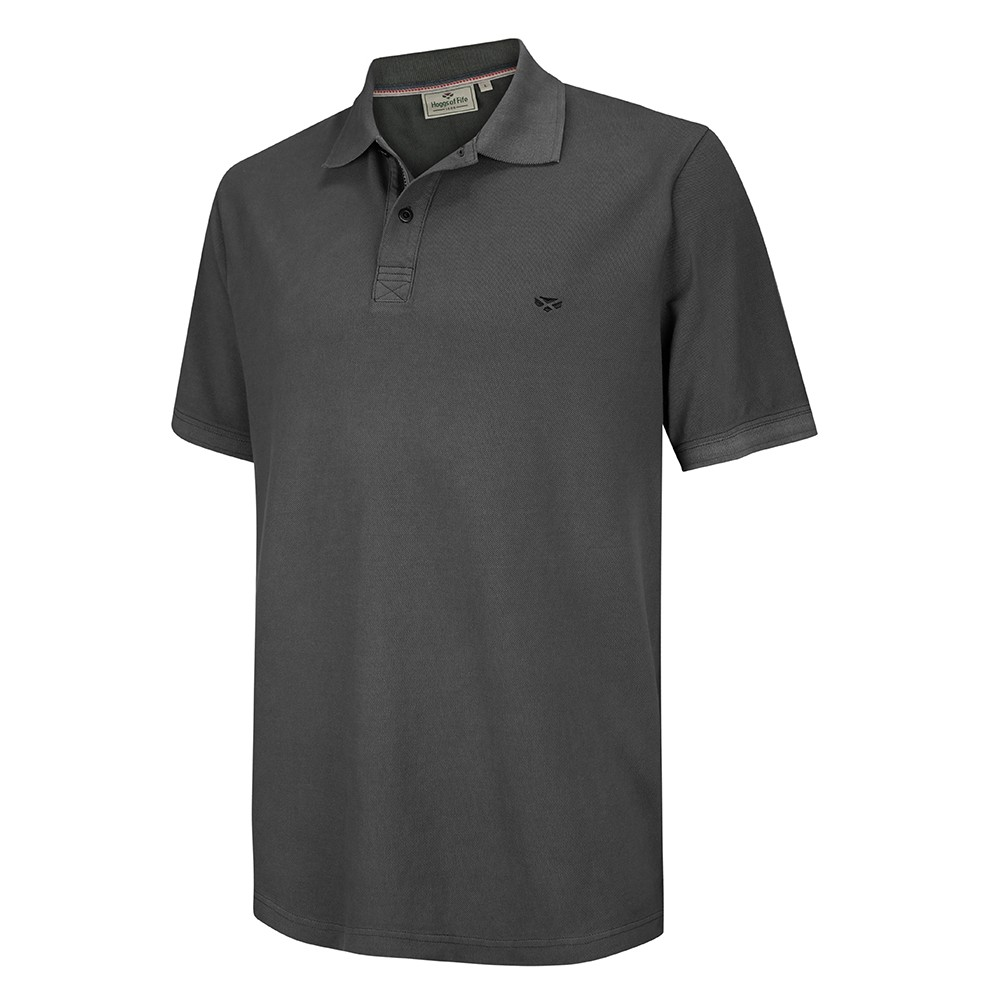 HOGGS OF FIFE Anstruther Washed Polo Shirt