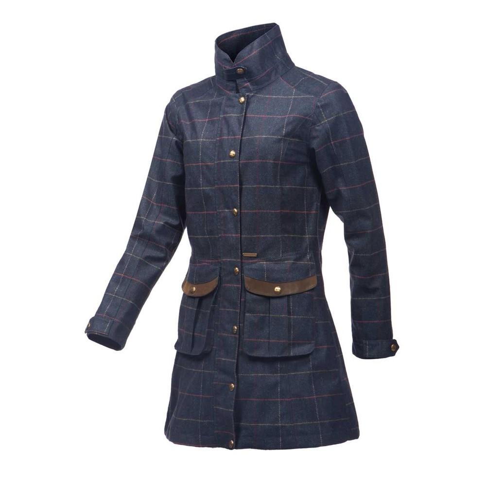 Baleno Darlington Ladies Printed Tweed Coat
