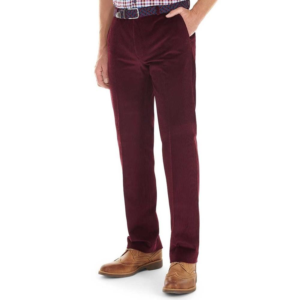Alan Paine Alan Paine Corduroy Trousers - Wine