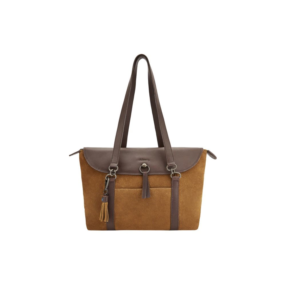 Dubarry of Ireland Dubarry Parkhall Tote Bag in Camel