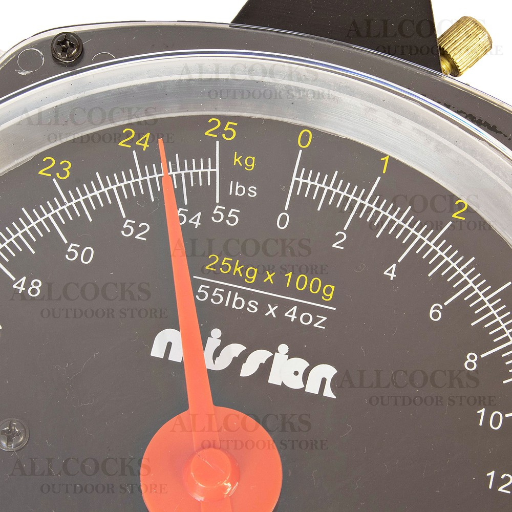 Daiwa Mission Dial Scales - 25kg