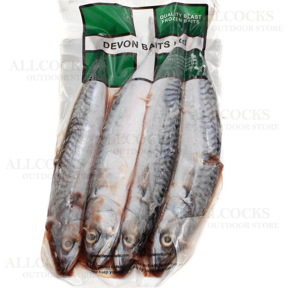 Allcocks Deadbaits - Mini Mackerel x4 COLLECTION ONLY