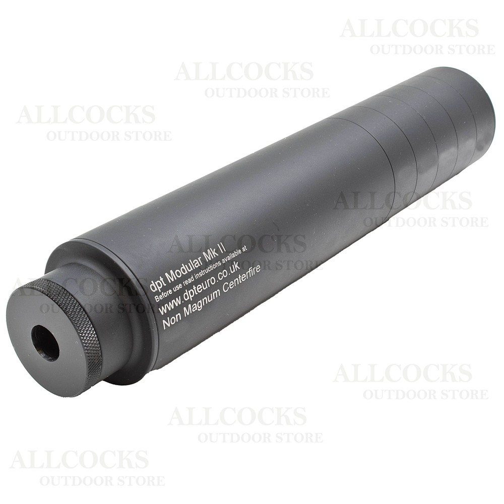 DPT Centrefire Modular Over Barrel Sound Moderator - .243/6mm Black