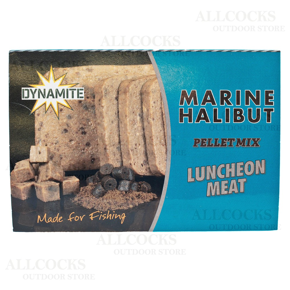 Dynamite Baits Pellet Mix Luncheon Meat - Marine Halibut
