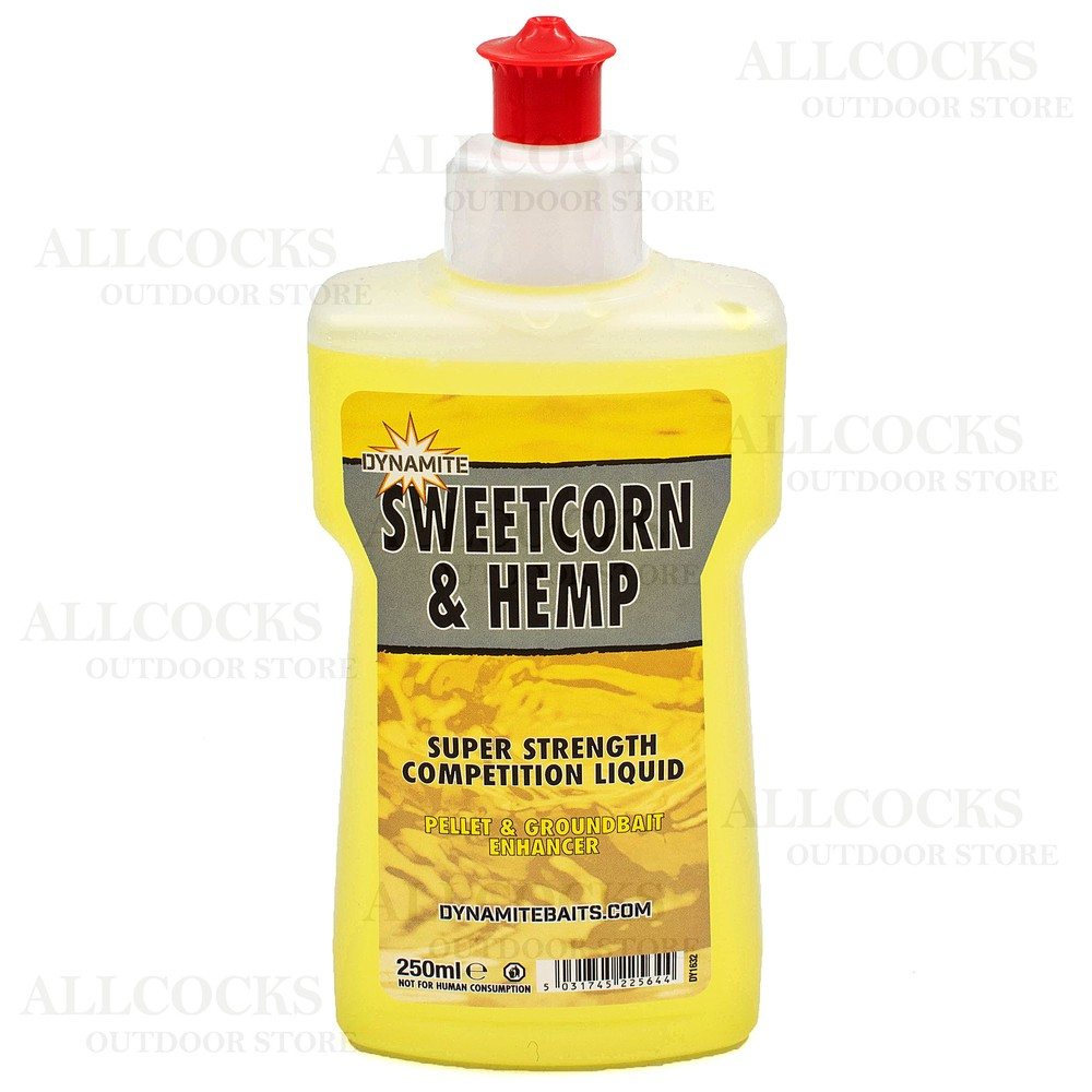 Dynamite Baits XL Liquid - Sweetcorn & Hemp