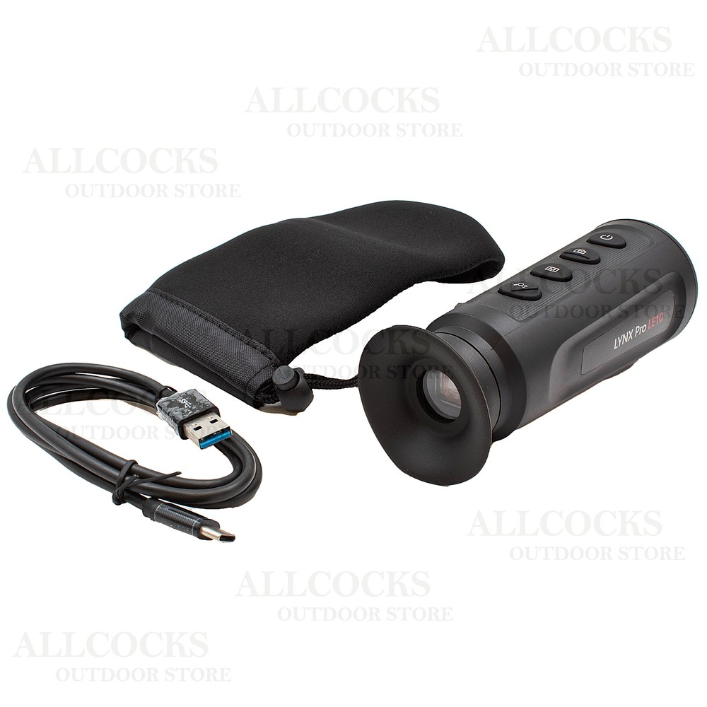 HIK Micro Lynx Pro 10mm Thermal Monocular Black