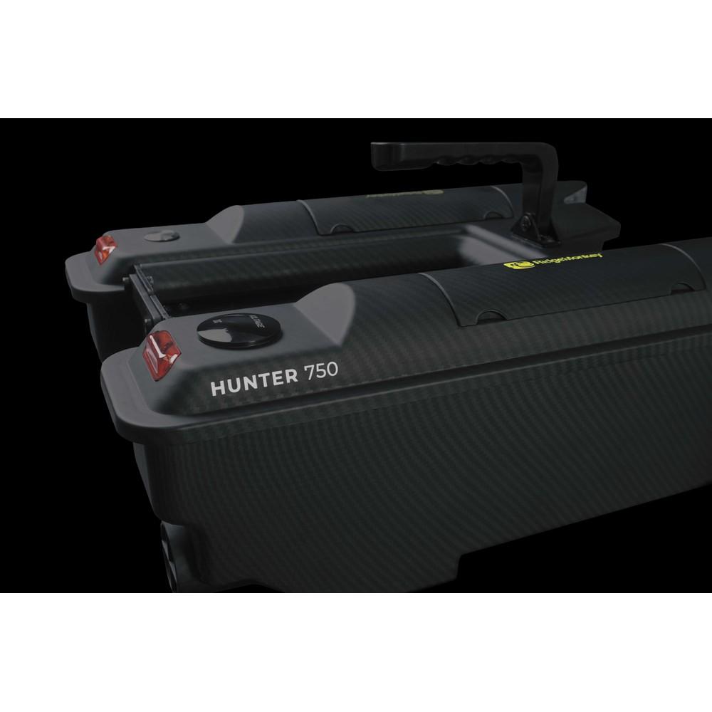 RidgeMonkey Hunter 750 Bait Boat Black