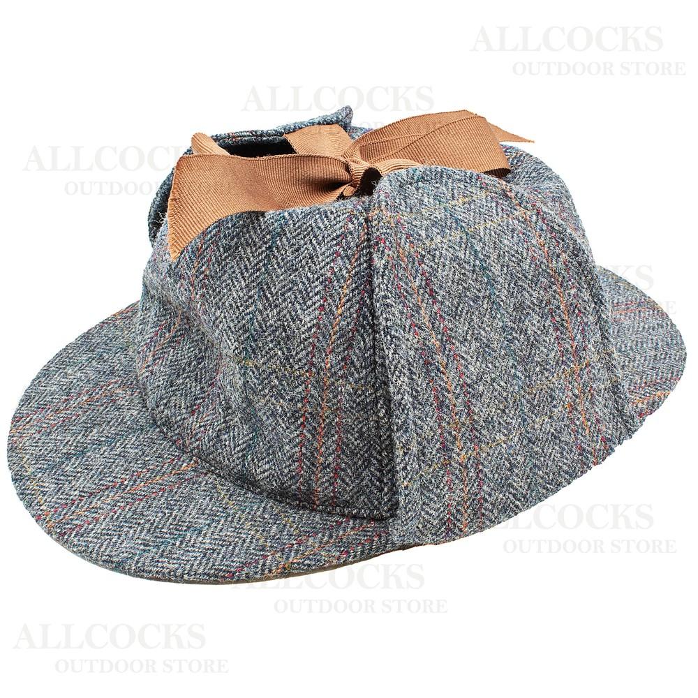Olney Sherlock Tweed Hat - 57cm