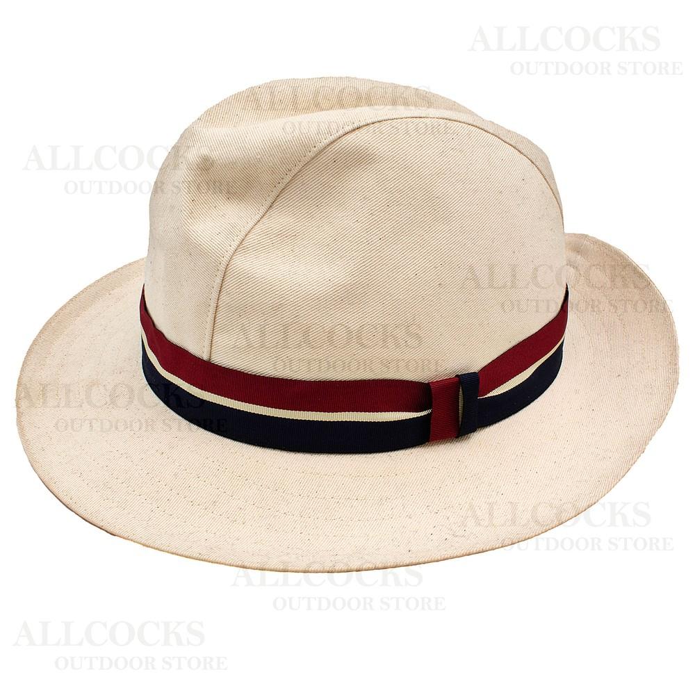 Olney Pre-Set Calico Hat - 57cm
