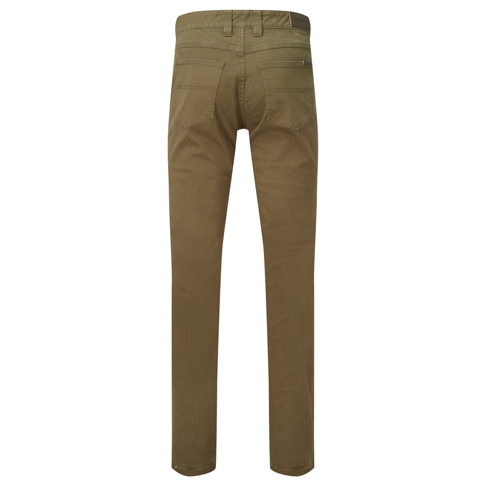 Schoffel Canterbury 5 Pocket Jean - Regular Moss