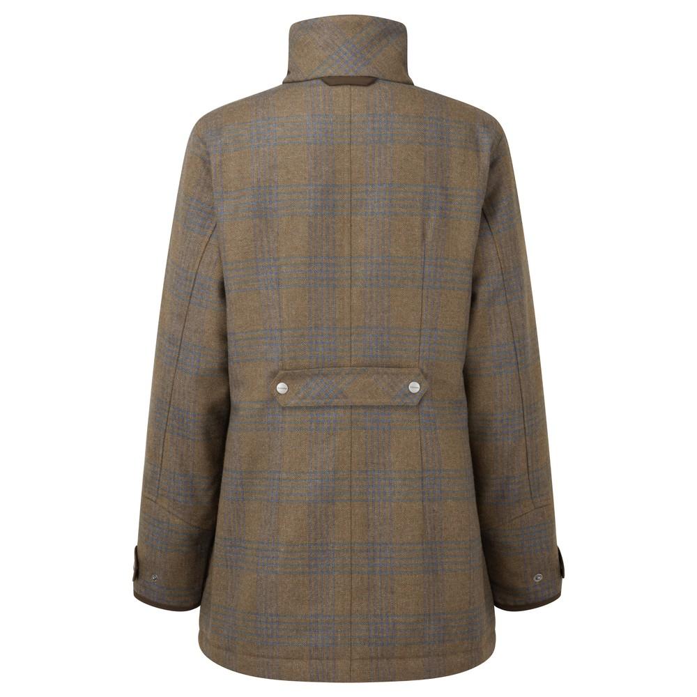 Schoffel Ladies Ptarmigan Tweed Coat Iona Tweed