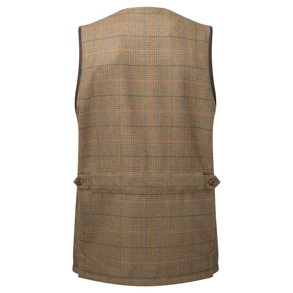 Schoffel Ladies Tweed Shooting Vest Iona Tweed