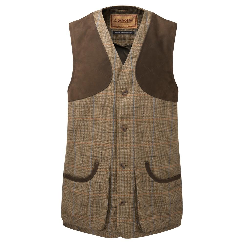 Schoffel Ladies Tweed Shooting Vest
