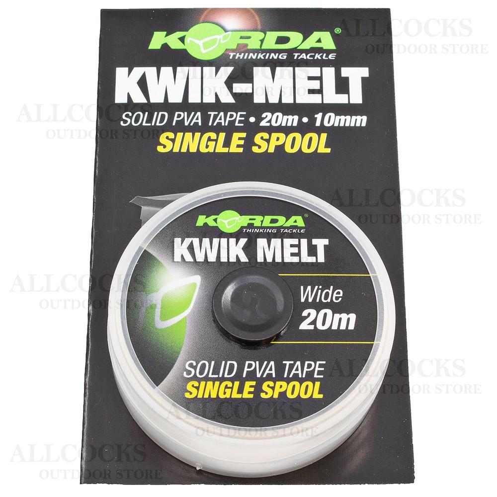 Korda Kwik-Melt Solid PVA Tape - 20m