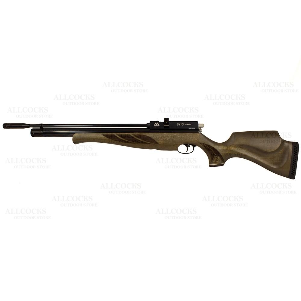 Air Arms S410 Classic Air Rifle Superlite Hunter Green