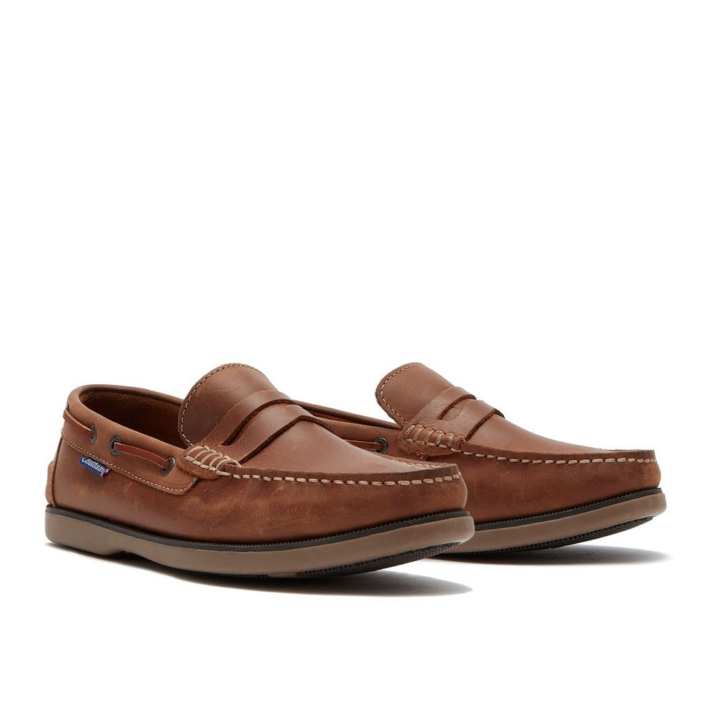 Chatham Shanklin Leather Loafers