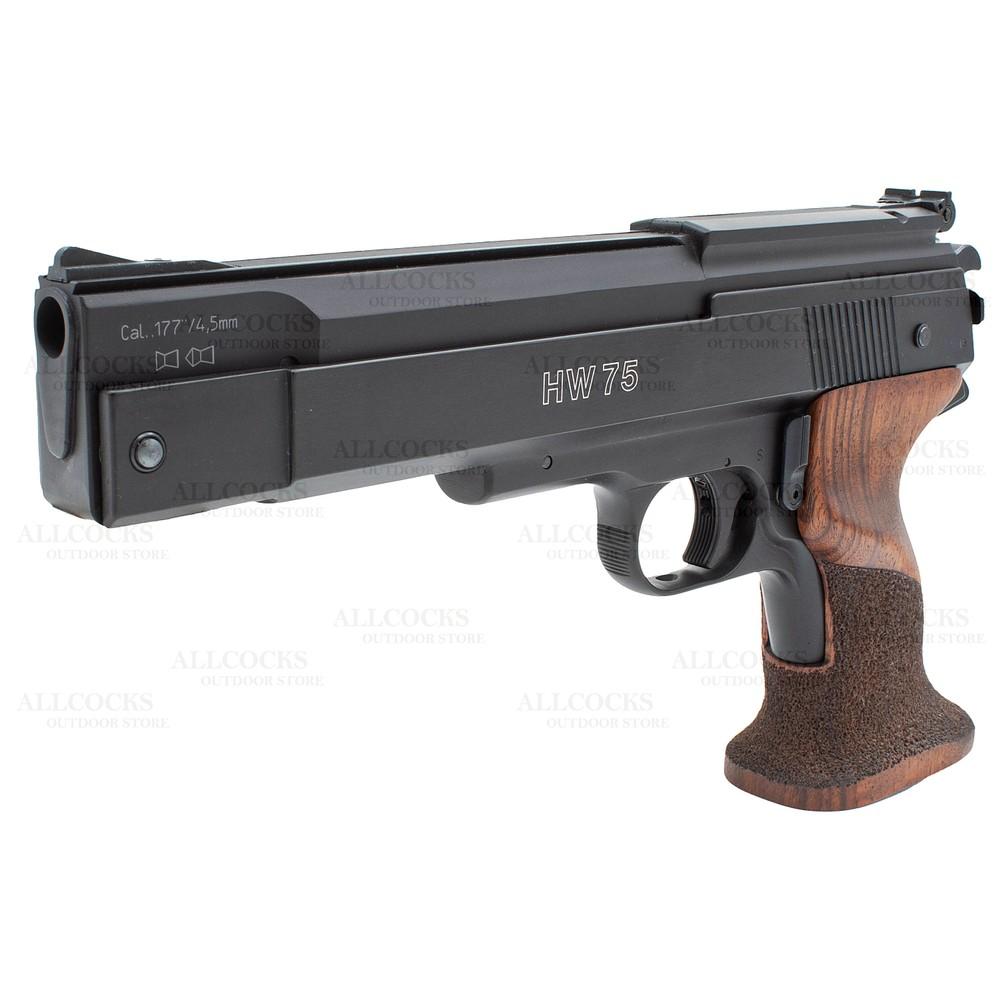 Weihrauch HW75 Air Pistol Walnut