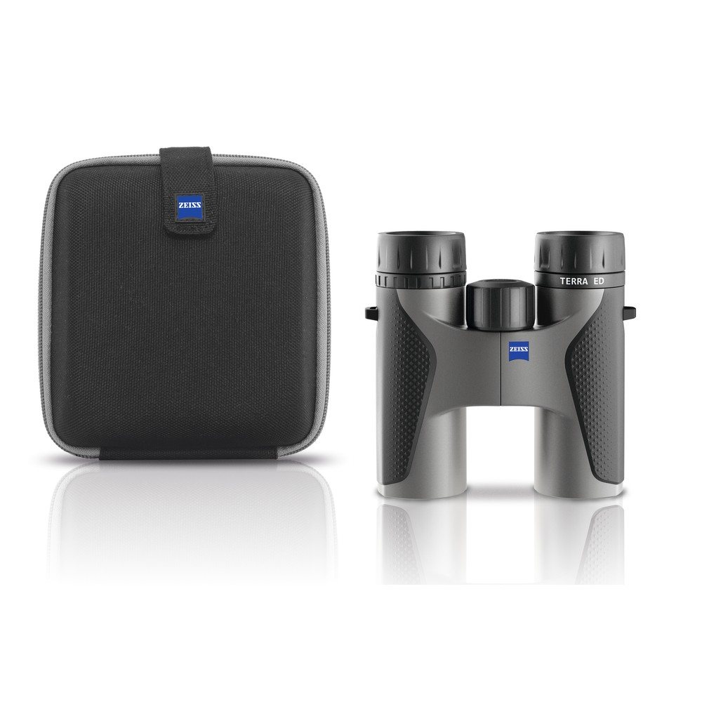 Zeiss Terra ED Binoculars - 8x32 Black/Grey