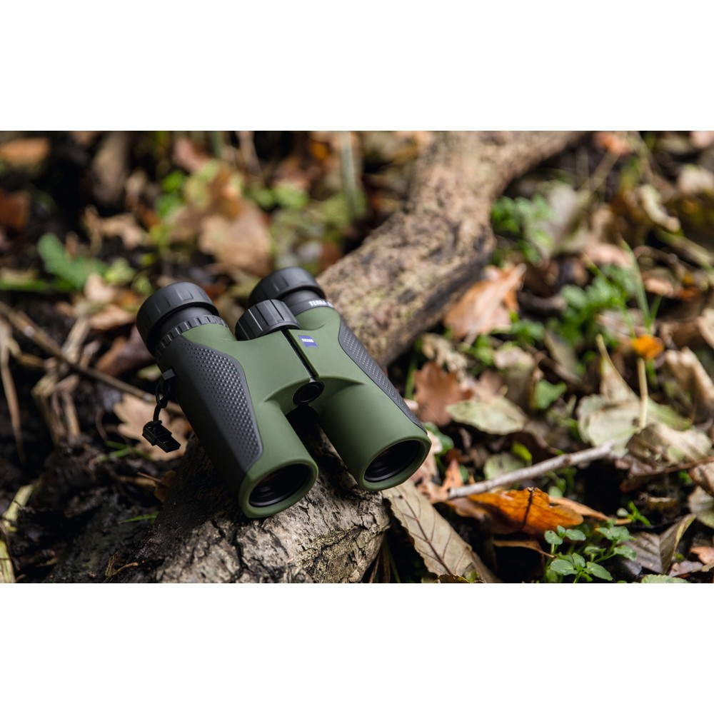 Zeiss Terra ED Binoculars - 10x32 Black/Green