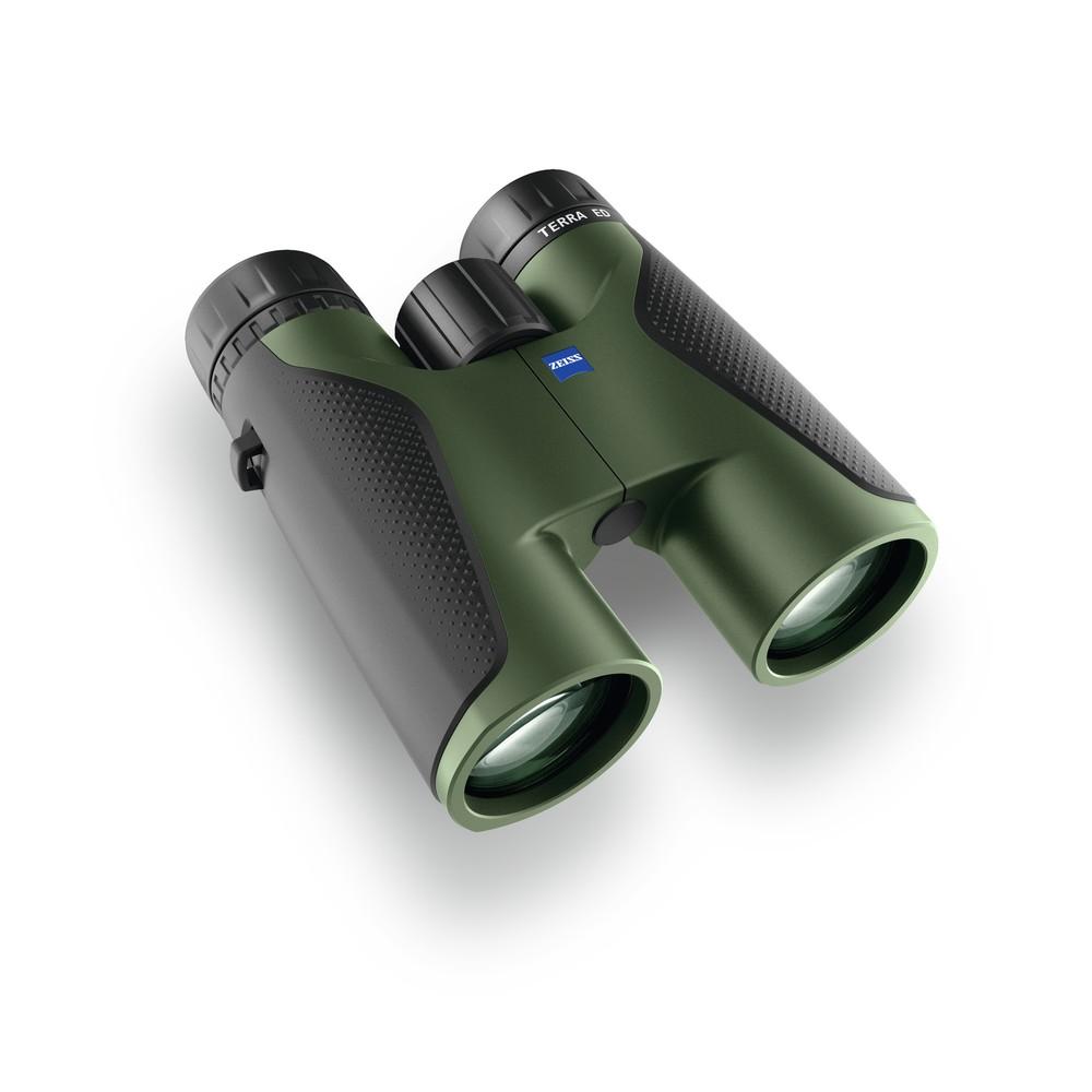 Zeiss Terra ED Binoculars - 10x42 Black/Green