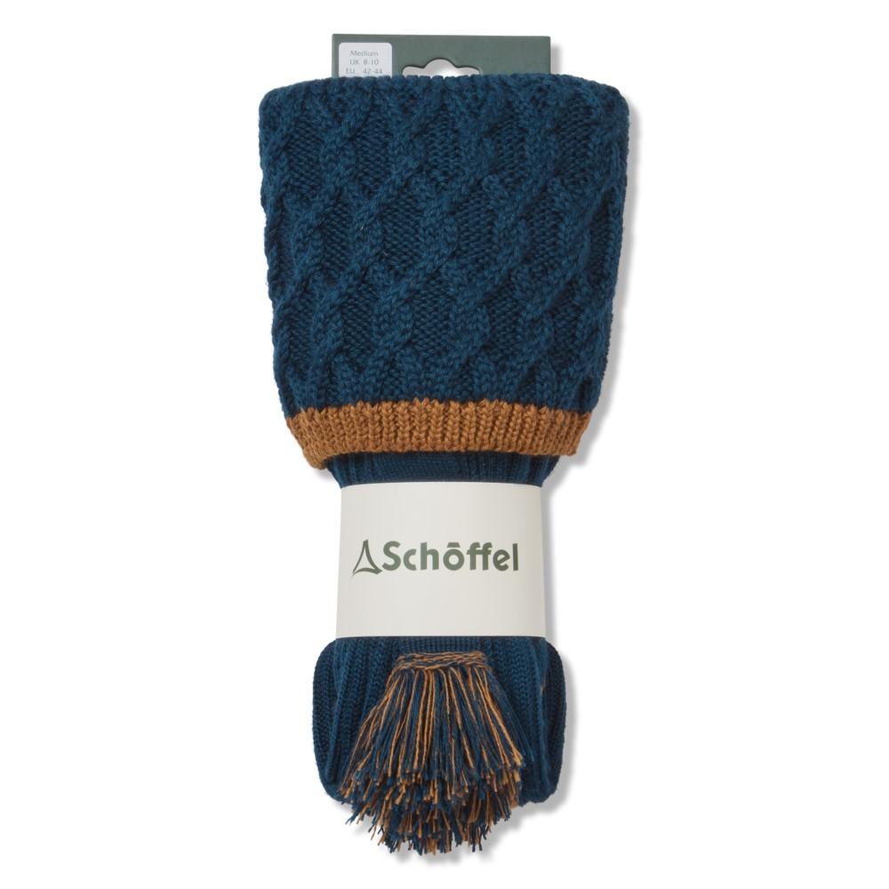 Schoffel Schoffel Lattice Sock - Dark Teal
