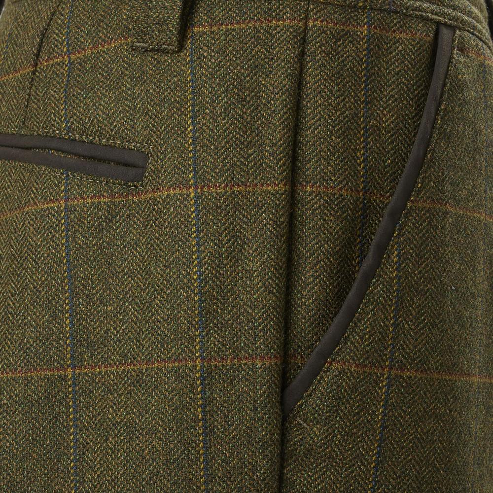 Musto Light Machine Washable Tweed Breeks Balmoral