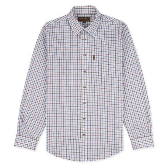 Musto Musto Classic Twill Shirt - Rutmoor Colbalt