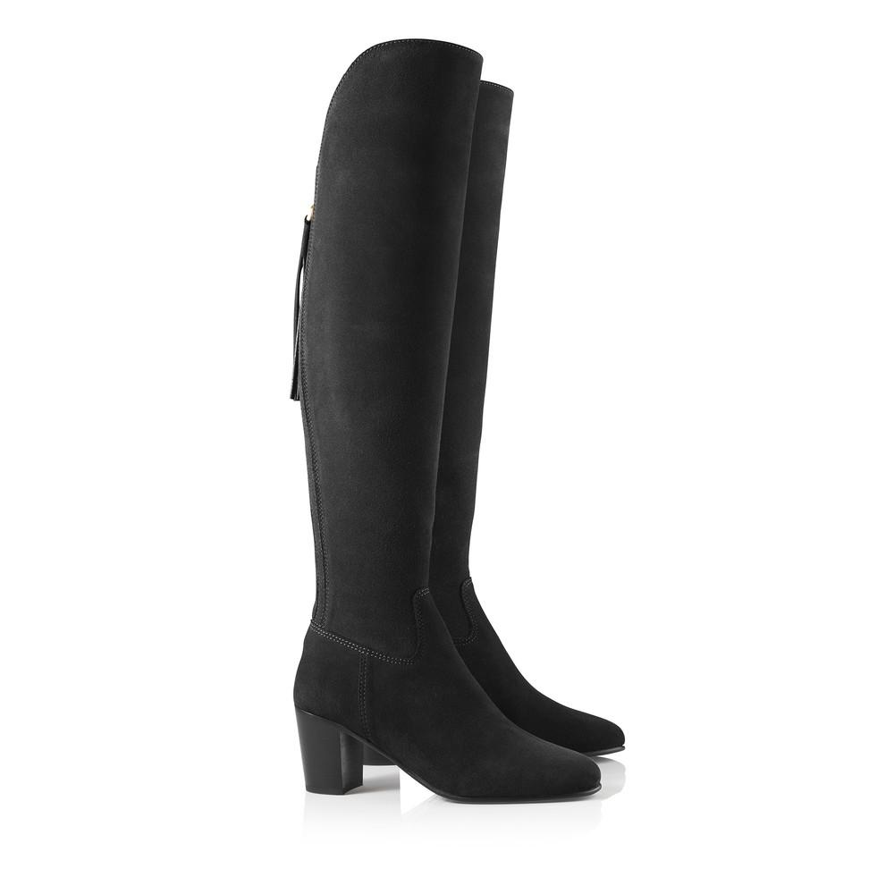 Fairfax & Favor Heeled Amira Boot Black