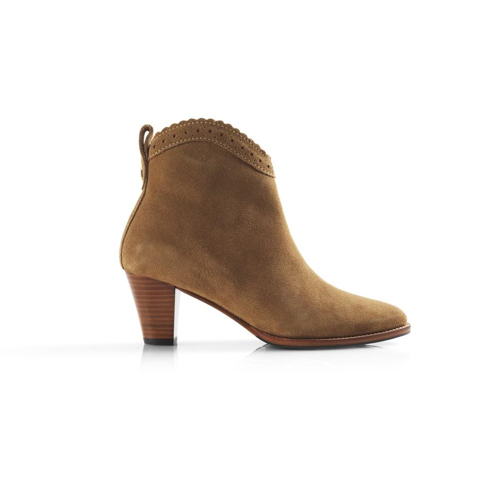Fairfax & Favor Regina Ankle Boot Tan