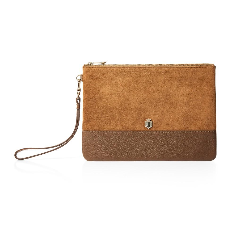 Fairfax & Favor Fairfax & Favor Highbury Clutch Bag - Tan