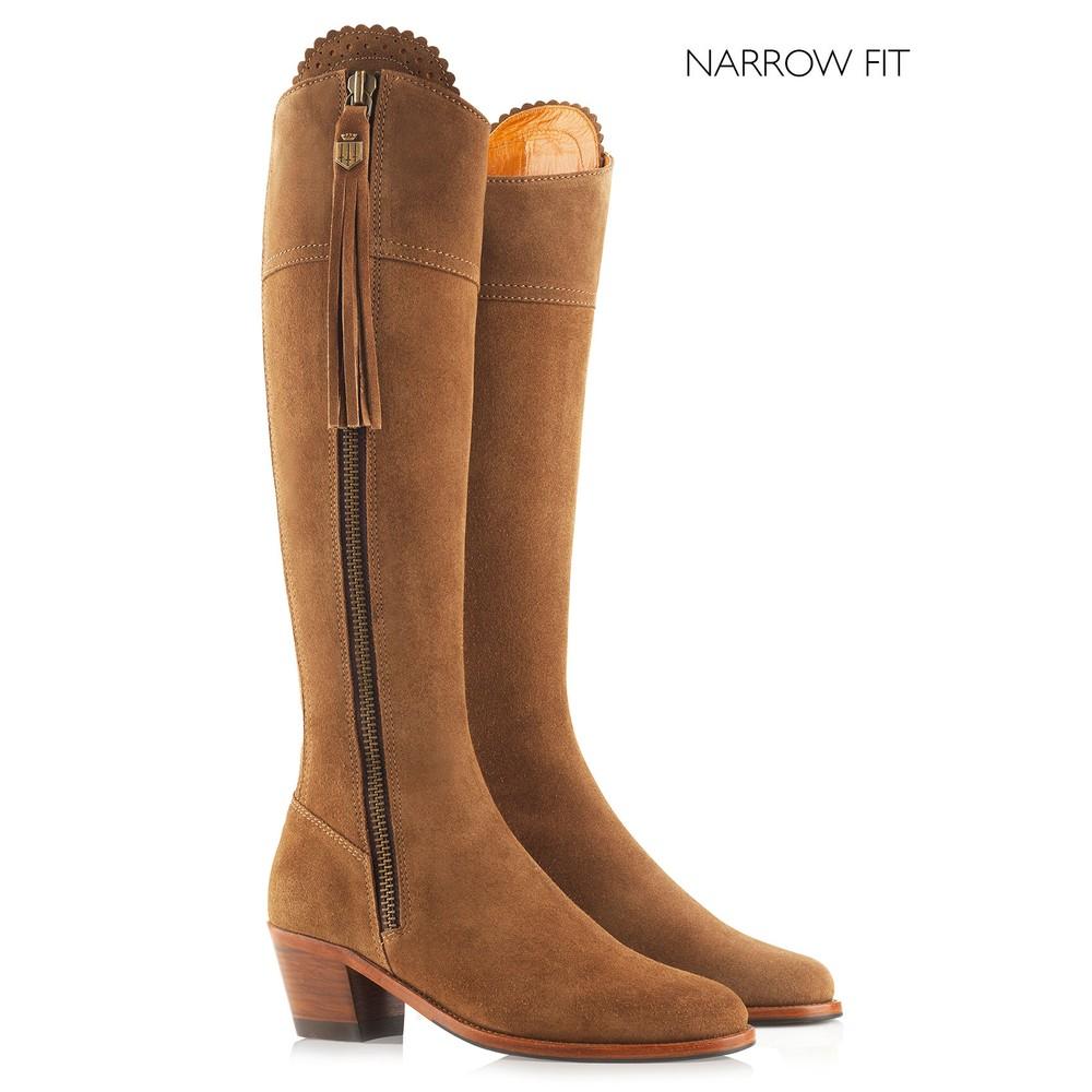 Fairfax & Favor Heeled Regina Boot - Narrow Fit