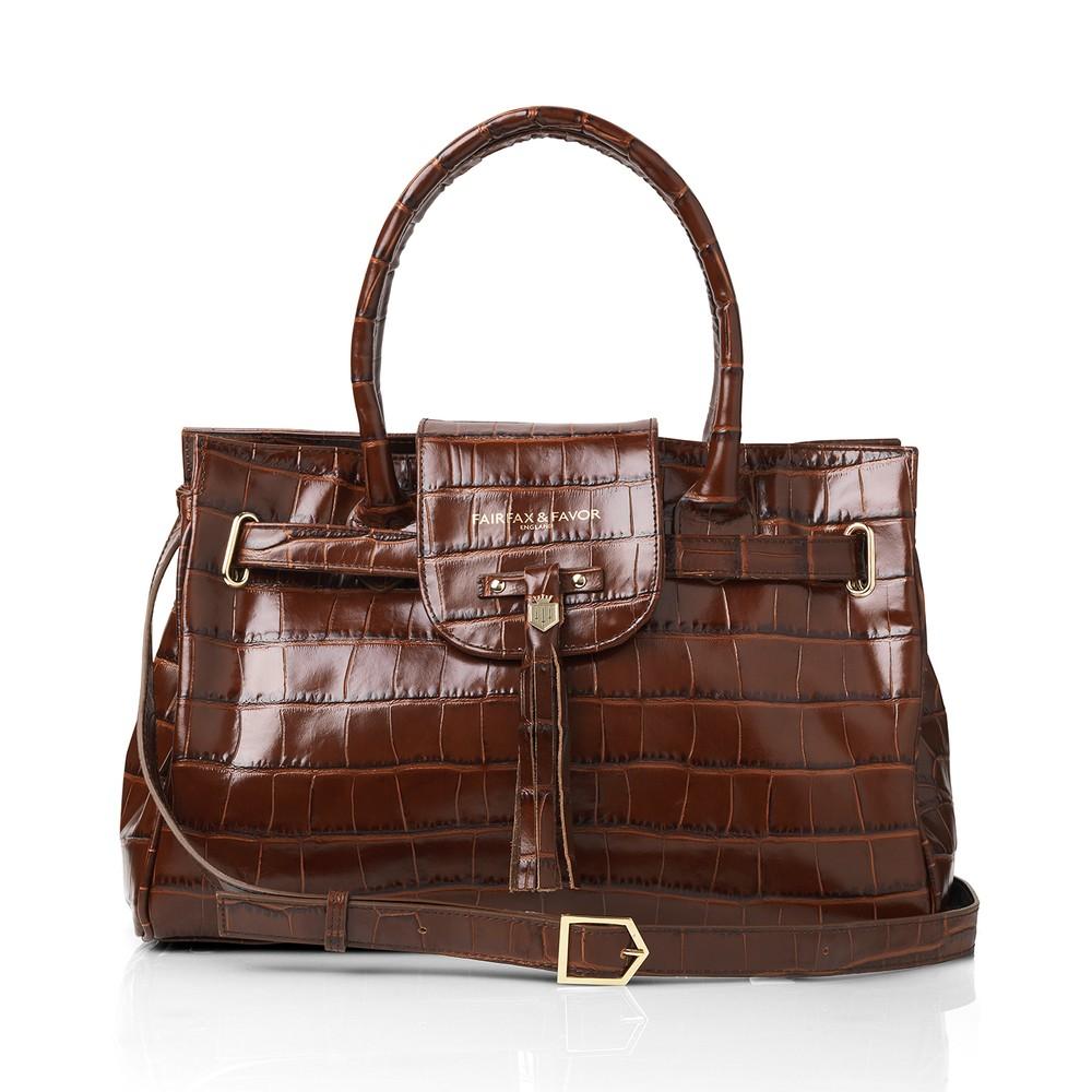 Fairfax & Favor Fairfax & Favor Windsor Handbag - Conker Brown