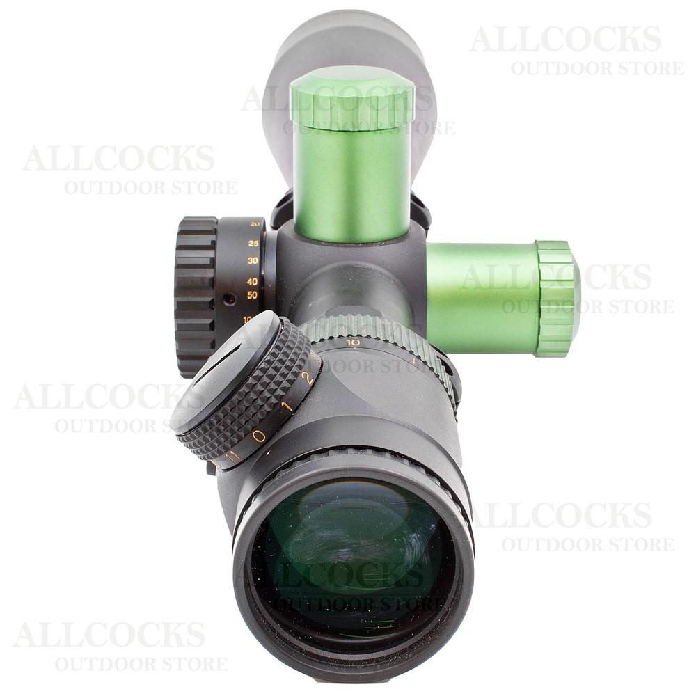 Nikko Stirling Pre-Owned  Diamond Illuminated Riflescope - 10-50x60 MD SF Black/Green