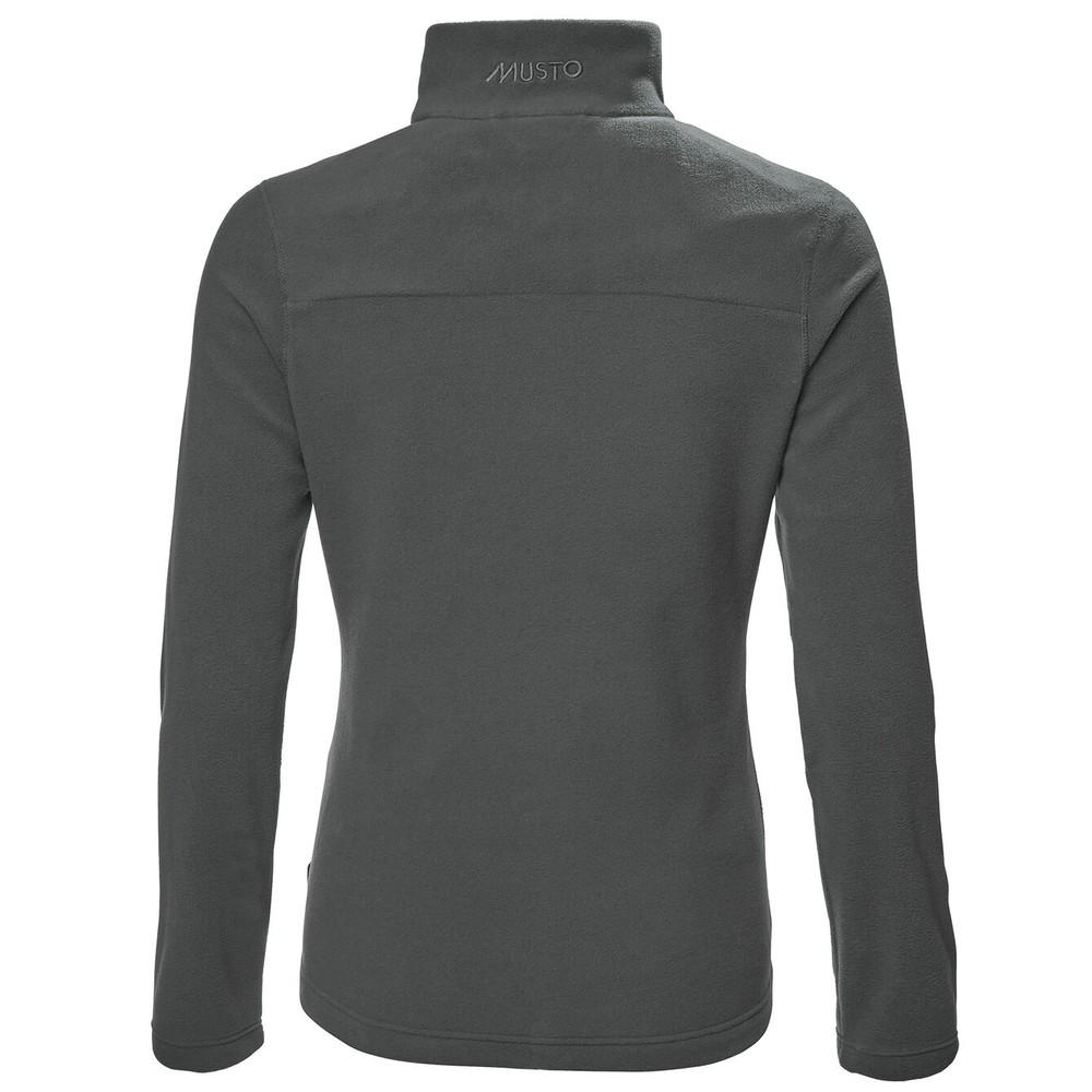 Musto Womens 100gm Corsica 1/2 Zip Fleece Dark Grey