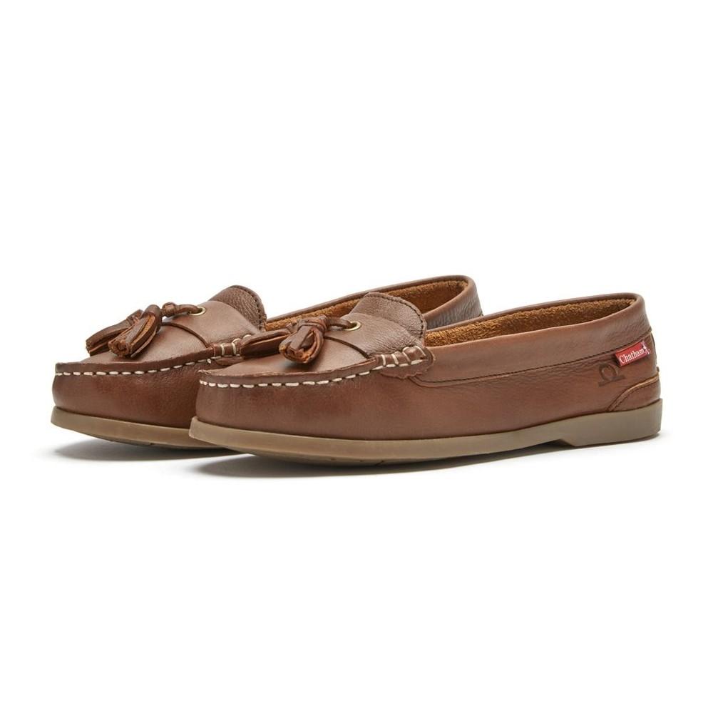 Chatham Arora Leather Tassel Loafer