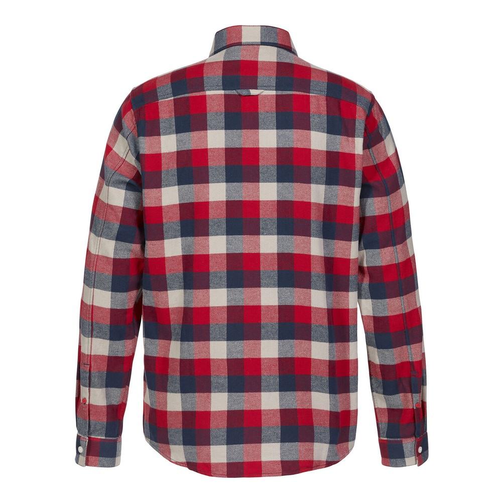 Musto Marina Twill Shirt Deep Red Check