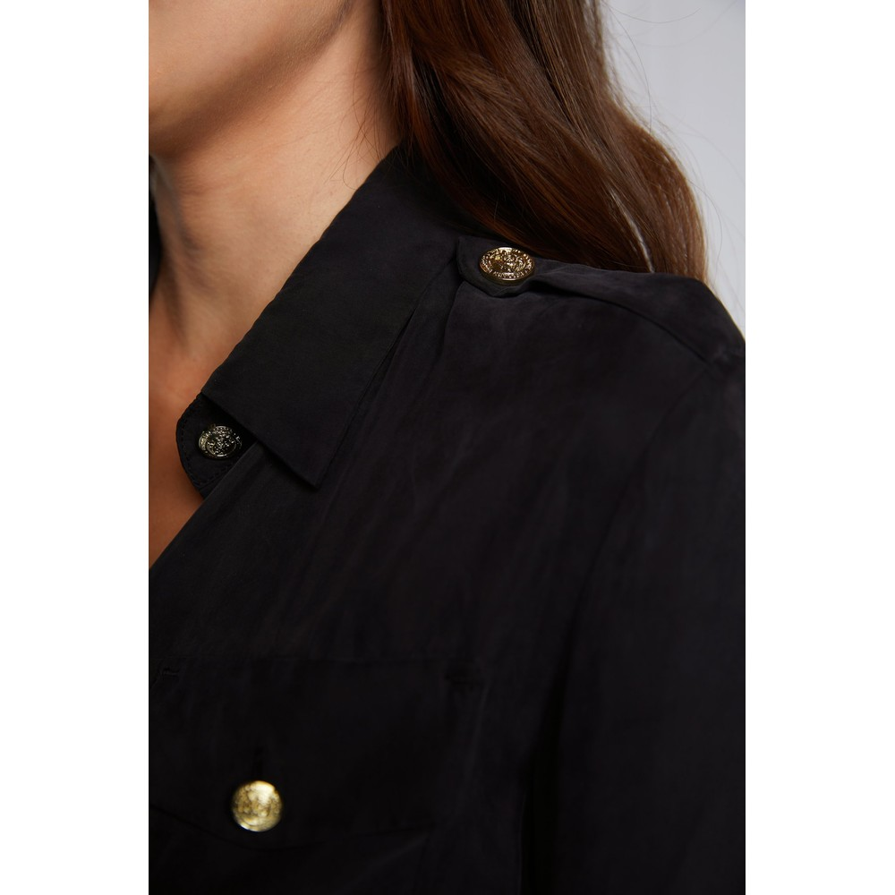 Holland Cooper Cupro Shirt Black