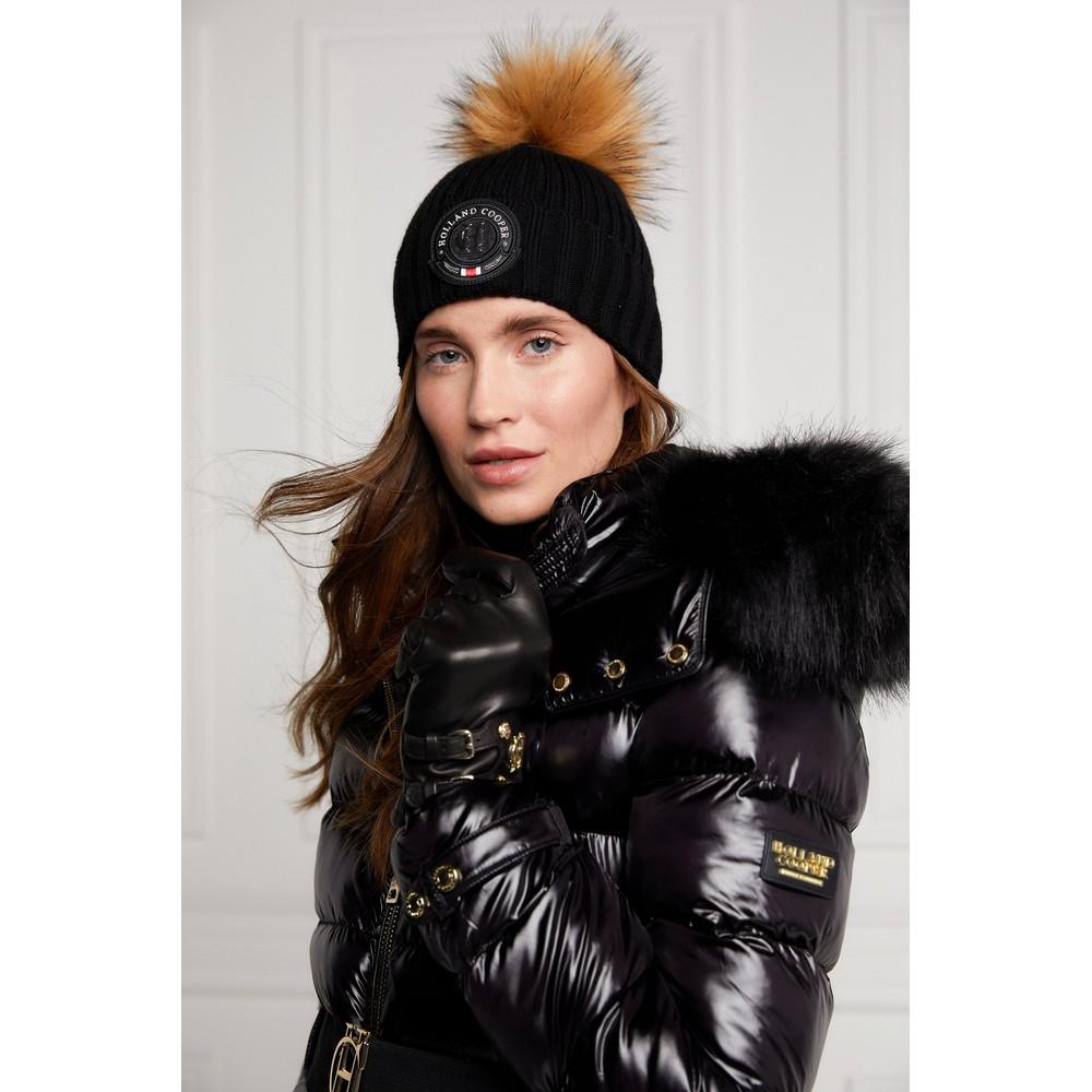 Holland Cooper Equi Knit Bobble Hat