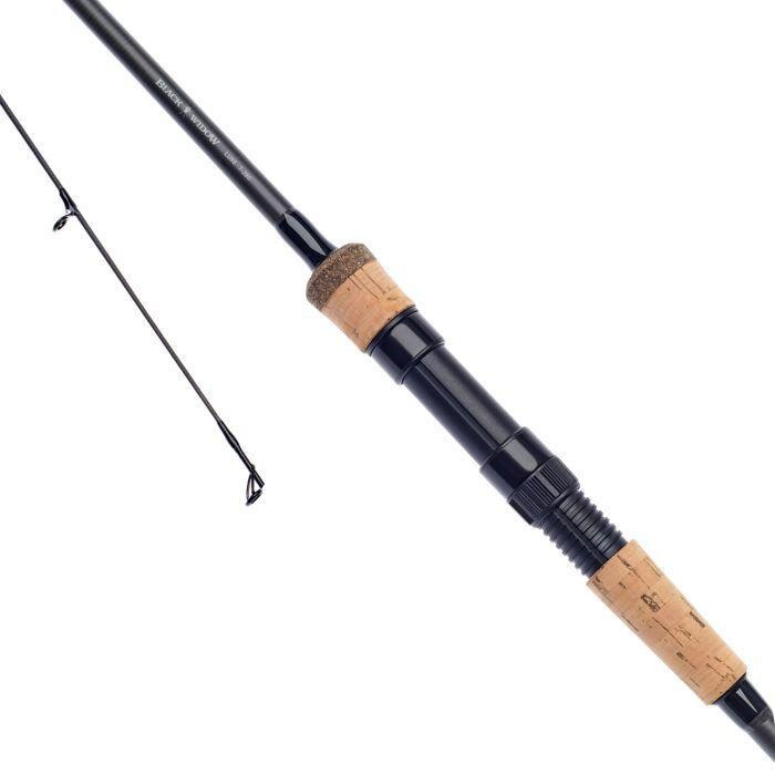 Daiwa Black Widow Lure Rod - 8' - 7-28g Black