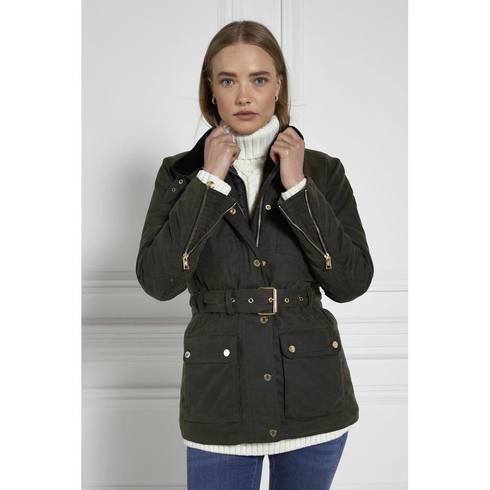 Holland Cooper Wax Field Jacket
