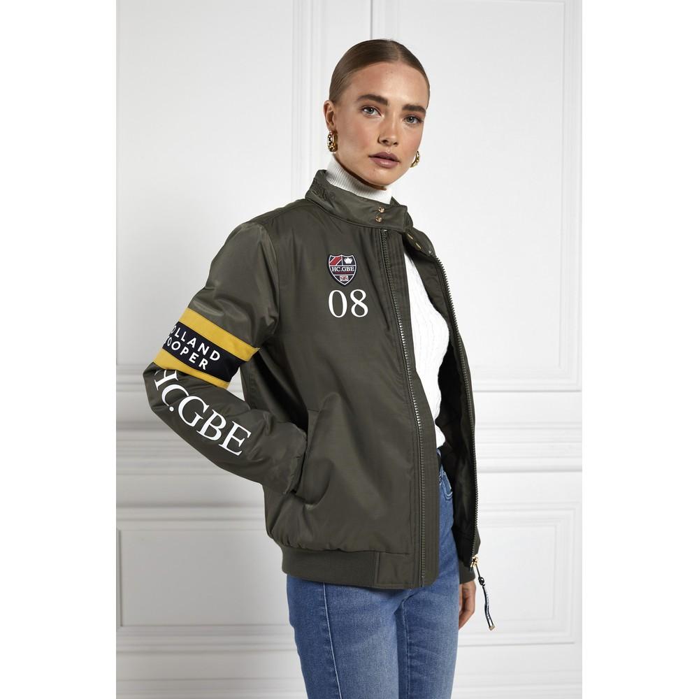 Holland Cooper Quilted Harrington Jacket Khaki
