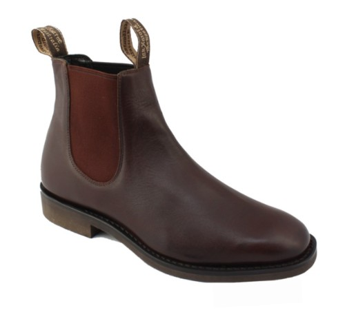 Ian Harold Ian Harold Grazier Boot - Chocolate